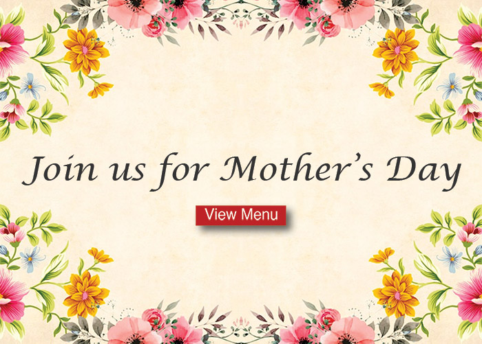 Mother's Day Brunch Promo with flowers on it
